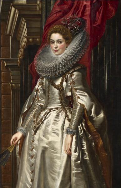 Qui a représenté cette belle marquise et son magnifique chignon ?