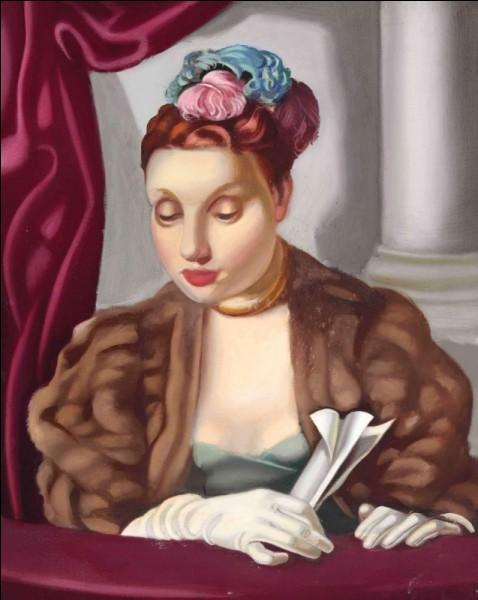 """Joli chignon sur une toile pleine de fraîcheur, intitulée """"Printemps"""". Qui en est l'auteur ?"""