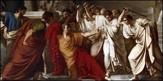 César fut assassiné en -44 aux ides de Mars. À quel jour cela correspond-il ?
