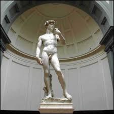 """Cette célèbre sculpture de la renaissance a pour nom """"Michel""""."""