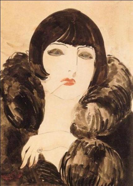 "Son tableau s'intitule ""La Cigarette"" :"