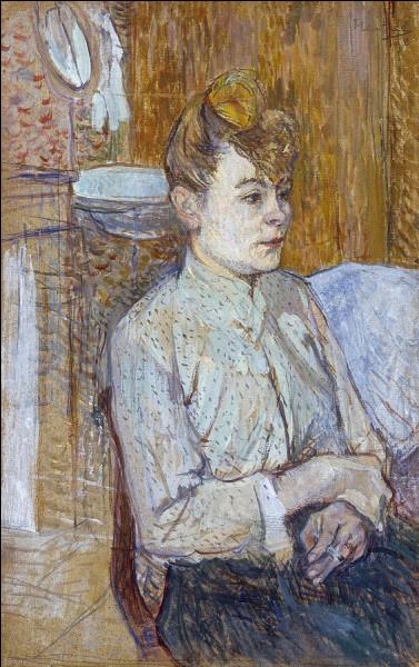 """Qui a peint cette """"Femme fumant une cigarette"""" ?"""