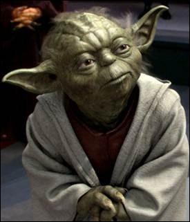 Quelle est la taille de maître Yoda ?