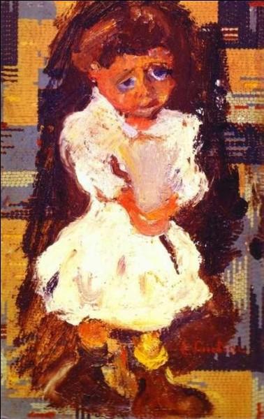 Qui a réalisé ce portrait d'enfant ?