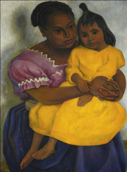 Qui a peint cette mère et sa fille ?