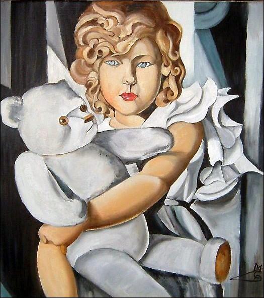 """Qui est l'artiste qui a peint """"Mademoiselle Ploum"""" ?"""