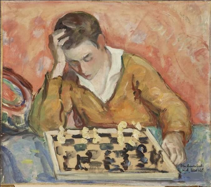 """Qui a peint """"L'Enfant jouant aux échecs"""" ?"""