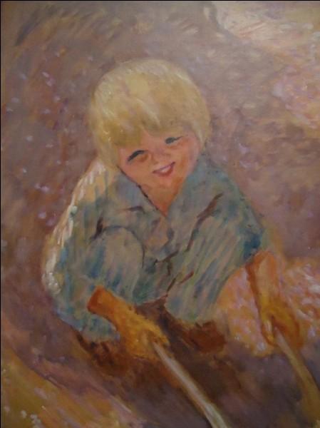 """Qui est l'auteur de """"L'Enfant à la brouette"""" ?"""