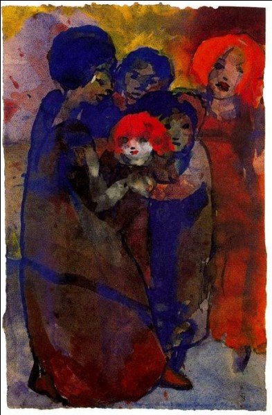 """Qui a peint """"Groupe d'enfants"""" ?"""