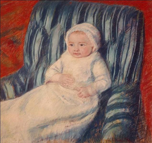 """Qui a représenté cet """"Enfant sur un sofa"""" ?"""