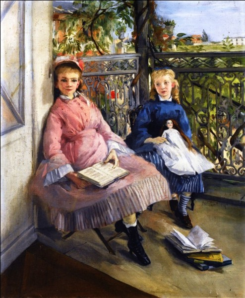 Qui a peint ces enfants près de la fenêtre ?