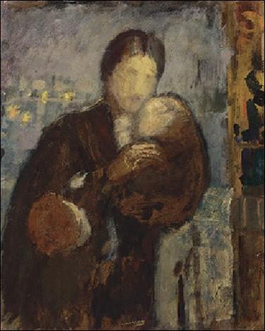 """Qui a peint """"Femme et enfant"""" ?"""