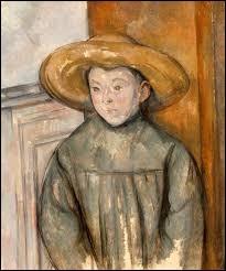 """Qui a peint """"L'Enfant au chapeau de paille"""" ?"""