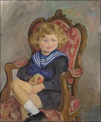 Qui a réalisé le portrait de cet enfant ?