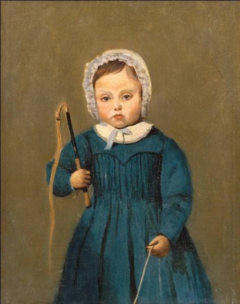 """Qui a peint """"Louis Robert, enfant"""" ?"""