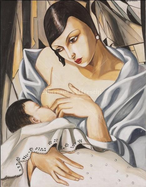 """Qui a peint """"Mère et enfant"""" ?"""