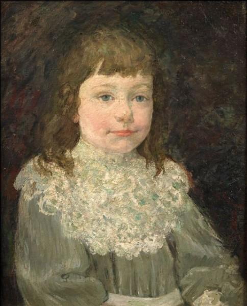 """Qui a fait ce """"Portrait d'enfant à la collerette"""" ?"""