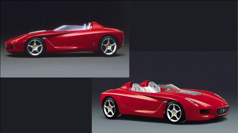 Ce concept italien fut réalisé par Pininfarina à l'occasion de son 70e anniversaire.