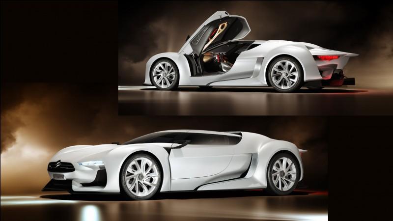 """Présentée en 2008 au salon de Paris, cette Citroën au look """"déterminé"""" allie le réel et le virtuel."""