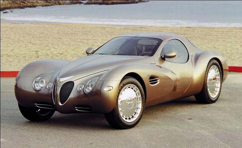 Ce concept-car de 1995 signé Chrysler rend hommage à la célèbre Bugatti des années 30.