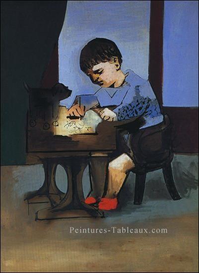 "Qui a peint ""Paul dessinant"" ?"
