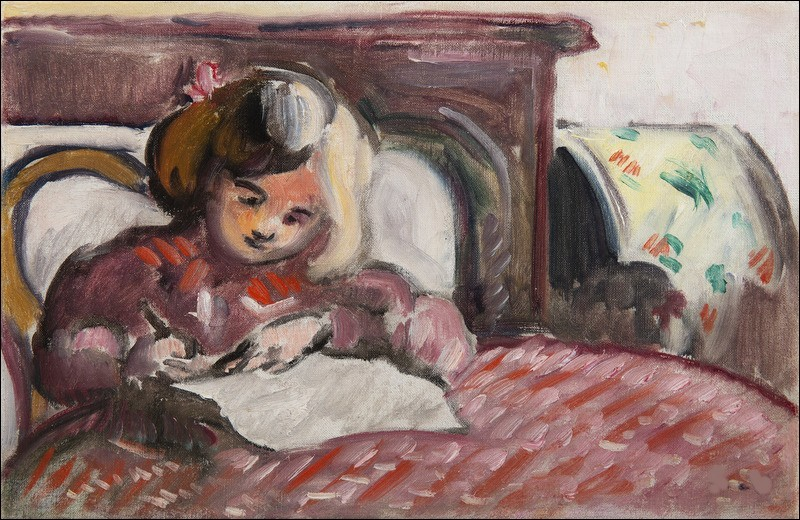 """À qui doit-on ce portrait d'""""Enfant écrivant"""" ?"""