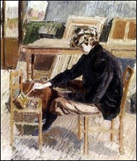 "Qui a peint ""Paul peignant"" ?"