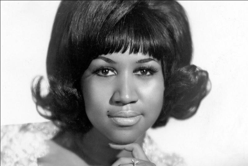 Cette chanteuse américaine de gospel, auteure-compositrice surnommée « The Queen of soul » ou encore « Lady Soul », c'est ... Franklin.