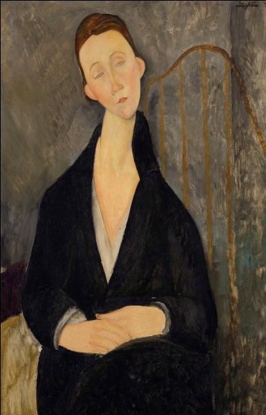 Le peintre et sculpteur italien, auteur de nombreux portraits aux formes étirées, c'est ... Modigliani.