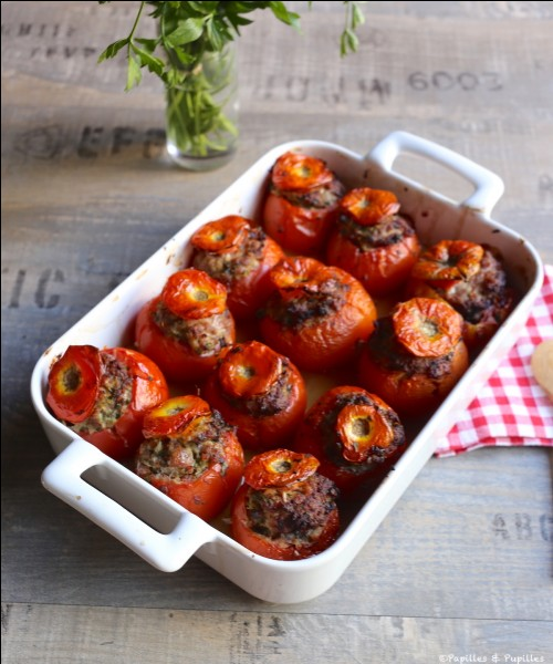 Maintenant un peu de chair à saucisse pour mes tomates farcies. Où vais-je aller ?