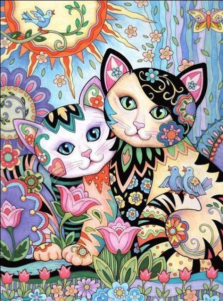 Les chats en littérature