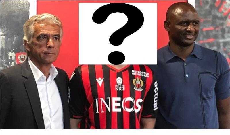 Quel joueur danois a été transféré à Nice cet été ?