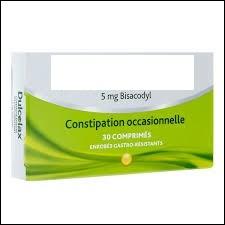 Ce médicament traite de la constipation occasionnelle. De qui s'agit-il ?