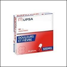 Un antalgique utilisé contre les douleurs et la fièvre. De qui s'agit-il ?