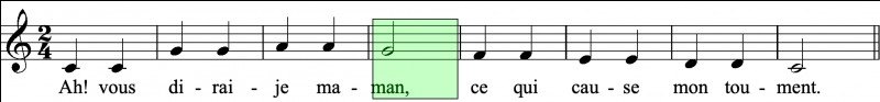 Quel est le nom du rythme ?