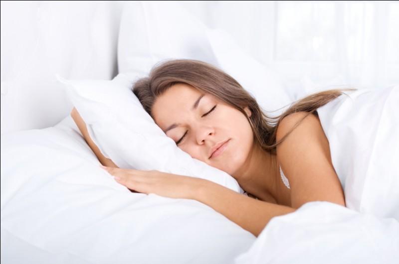 Un indice : Bien dormir