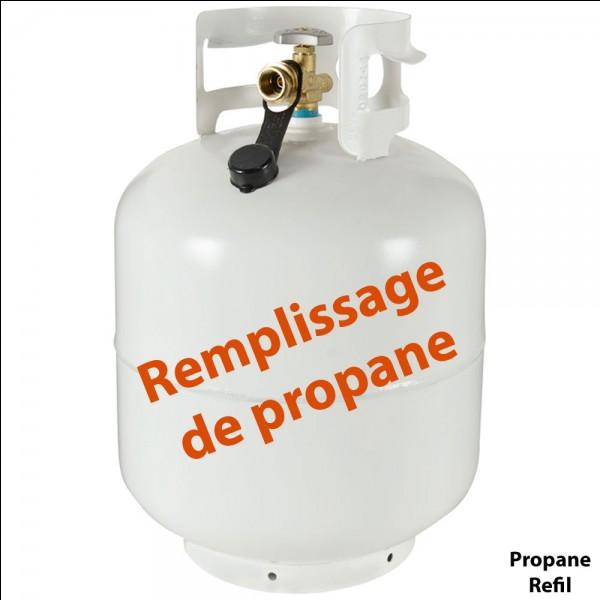 Combien peut-elle embarquer de litres de gaz-carburant ?