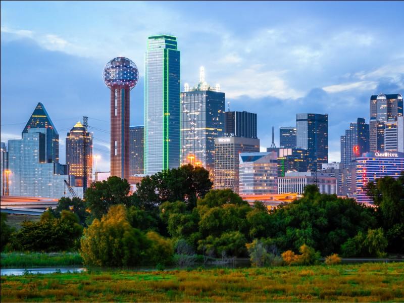 Où peut-on voir la ville de 175 000 habitants Grand Prairie ?