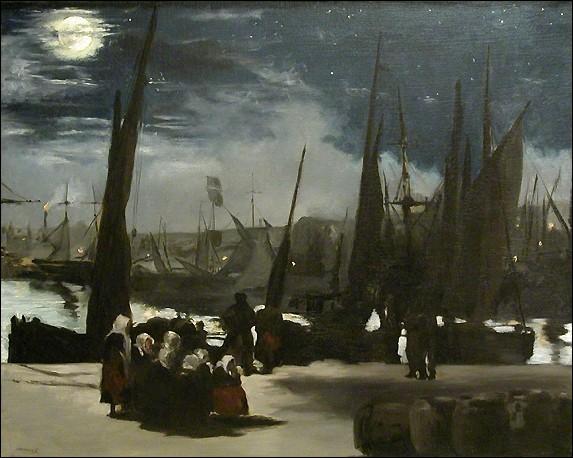 """Qui est le peintre du """"Clair de Lune sur le port de Boulogne"""" ?"""