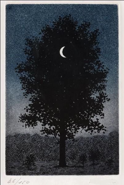 Qui a peint cet arbre avec lune ?