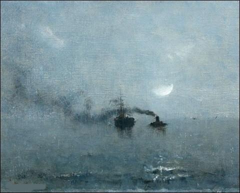 """À qui appartient la toile """"Marine sous la lune"""" ?"""