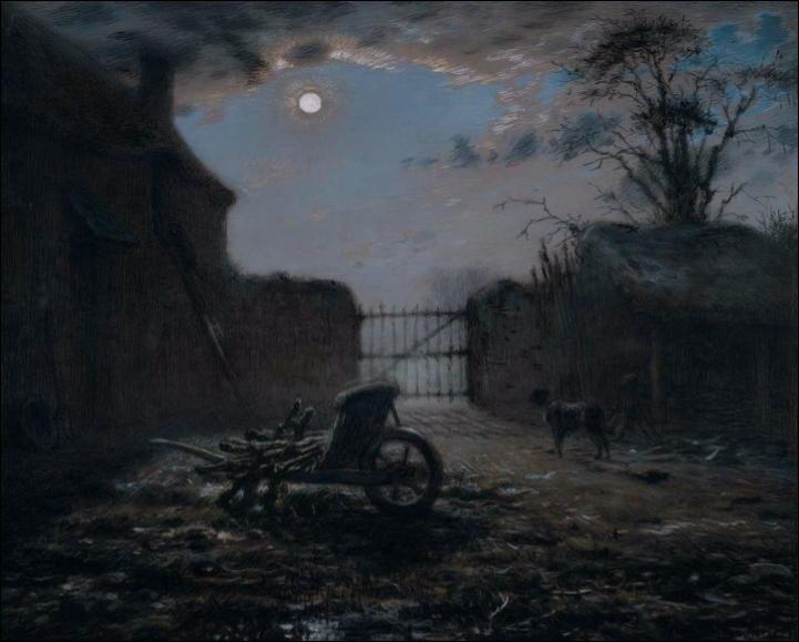 """Qui a peint """"Basse-cour au clair de lune"""" ?"""