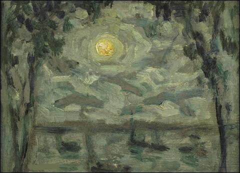"""À qui doit-on """"Clair de lune, Villefranche-sur-Mer"""" ?"""