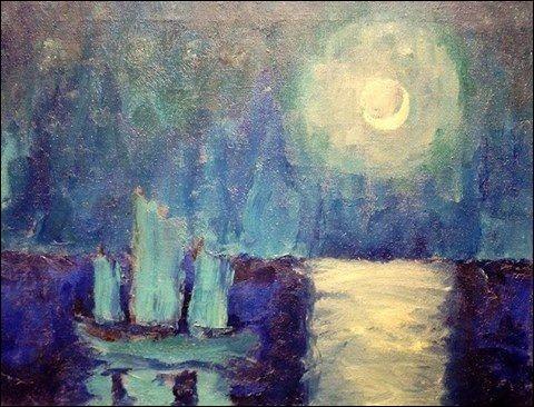 Qui a représenté cette lune ?