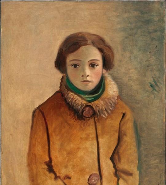 """Qui a peint """"Geneviève Taillade dans une veste orange"""" ?"""