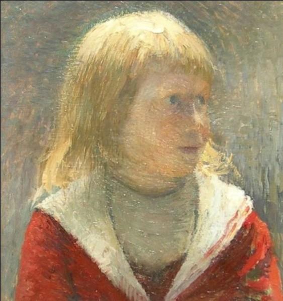 """Qui a peint """"L'enfant à la veste rouge"""" ?"""