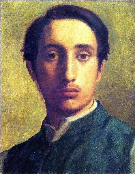 Qui a peint son autoportrait dans une veste verte ?