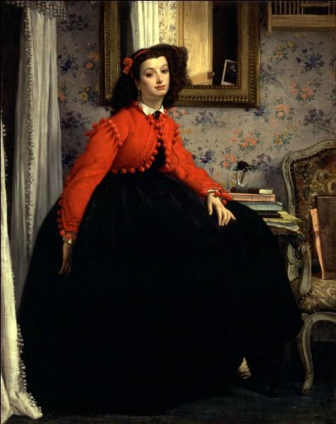 """Qui a peint """"Jeune fille en veste rouge"""" ?"""