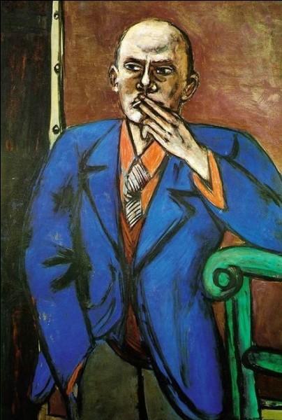 """Qui a peint """"Autoportrait en veste bleue"""" ?"""