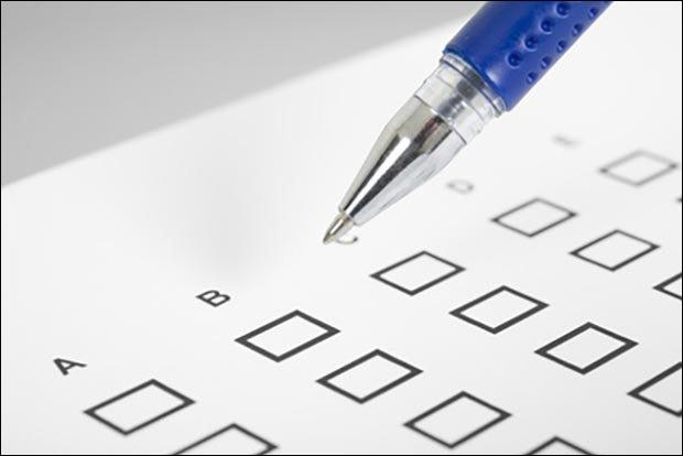 Quatre propositions vous sont présentées ici, à vous de choisir la bonne.